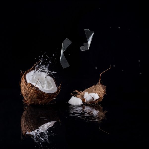 benzi cu ulei de cocos pentru albirea dintilor